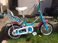 Girls bike for age 4