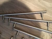 T bar Door handles for kitchen doors or drawers