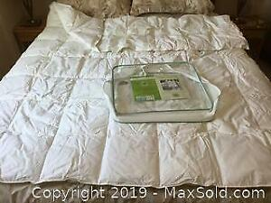 Green First Twin Duvet