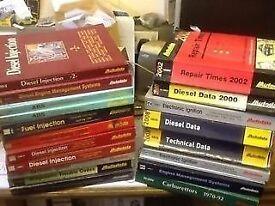 Auto Data Car Repair Books, various