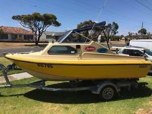 16ft Nereus Half Cabin with 50hp Mercury Outboard Warrnambool Warrnambool City Preview