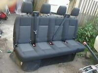 TRANSIT MK7 MK8 REAR BENCH SEATS CREW CAB