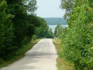 Beautiful lot for sale near Silver Lake, Manitoulin Island