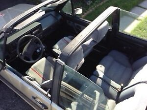 1987 soft top convertible VW Cabriolet