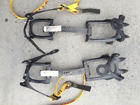 Grivel steel 10 point crampons (not step-in quick release)