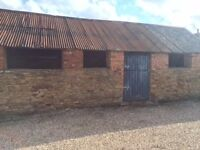 Barn for rent suitable for storage