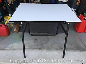 Folding Drafting Drawing Or Craft Table