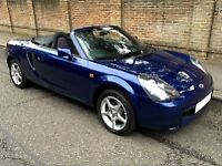 Toyota MR2 - lovely condition - New MOT with no advisories - full premium leather pack
