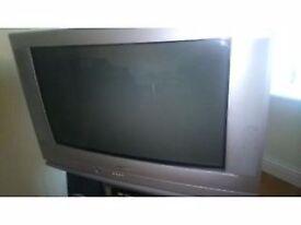 32 Inch SHARP CRT TV Silver/Grey
