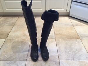 Marco Ferretti Knee High Leather Winter Boots size 6.5 West Island Greater Montréal image 2