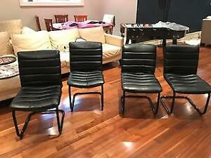 Modern Design Black Chairs