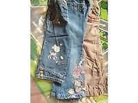 Girls jeans aged 2-3yrs