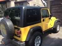 2004 Jeep Wrangler Convertible