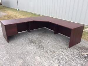 8' x 8' corner desk with drawers   ADDMORE FURNITURE