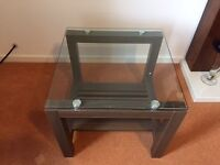 Glass top coffee table / TV Stand