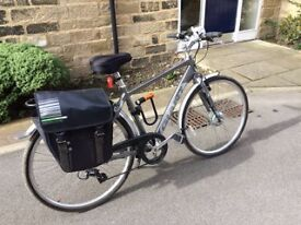 Like new Electric Bike for sale - Giant Twist Hybrid with 8 speed transmission at a great price!