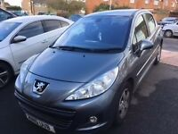 Peugeot 207 1.4s in grey, 5 door for sale