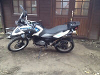 BMW Motorcycle 650 GS Sertao only 4180 miles