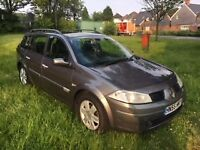 RENAULT MEGANE ESTATE 1.9 DIESEL DCI 2005 NEW MOT RELIABLE AND ECONOMICAL CLEAN AND TIDY