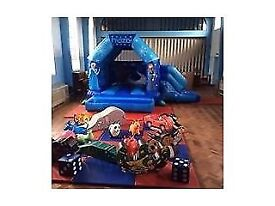 Disney Frozne Bouncy Castle with Soft Play