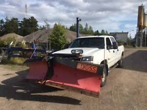 2006 Chevrolet Duramax Silverado 2500 HD and Plow