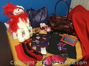 Red Hat Ladies Purses, Totes, Musical Teddy