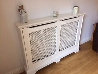 Radiator Cabinet - White