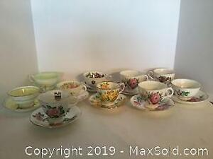 Tea Cups and Saucers Lot 2 (A)