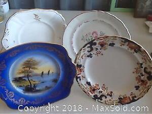 Antique Decorative English Plates