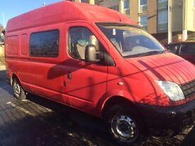LDV campervan (partly converted)- bargain at £2000- mot'sept.