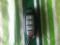 Lost Infiniti car key fob
