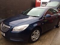 Vauxhall Insignia 2011, Immaculate Condition, Exceptionally Low Mileage, FSH, 3 Owners, Blue