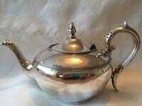 Pretty Vintage Silver Teapot