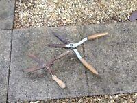Garden shears x2