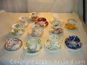 Lot of 12 China Teacups A