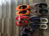 5 pairs of authentic Vans shoes, can be sold separately