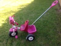 Little girl's trike