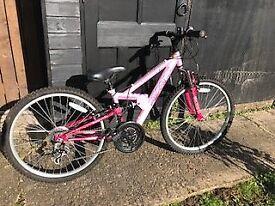 Apollo FS24 Girls Mountain Bike