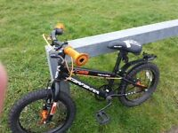 Childs Boys Bicycle/Bike with Helmet Included