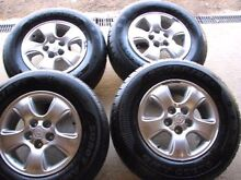 Rims and tyres Firefly Greater Taree Area Preview
