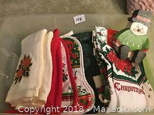 Christmas Towels And More