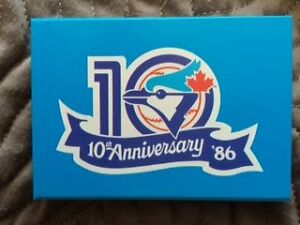 1986 Toronto Blue Jays Fire Safety Baseball Card Set