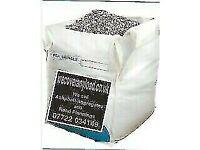 Ref Pea Shingle/Gravel 10mm,Jumbo Bag,850-1000kg FREE DELIVERY BARNSLEY YORKSHIR