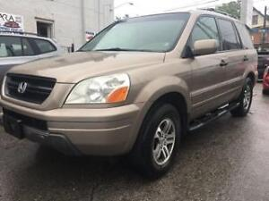 2004 Honda Pilot EX-L SUV, LEATHER, DVD AND ALL POWER OPTIONS