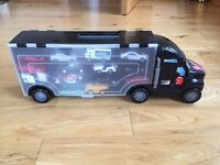 Boys Car Transporter Toy with 24 Toy Vehicles