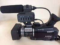 Video camera and accessories