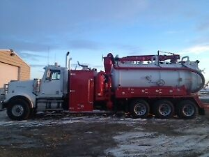 PRICE REDUCED-2013 Western Star ,Foremost Combo Unit
