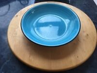 Wooden tabletop Lazy Susan serving plate