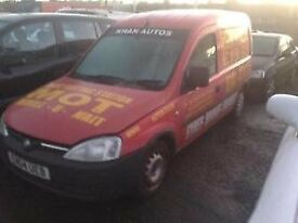 2004 VAUXHALL COMBO 1.7 DIESEL - BREAKING FOR PARTS