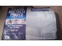 Brand new Slumberland heated mattress topper